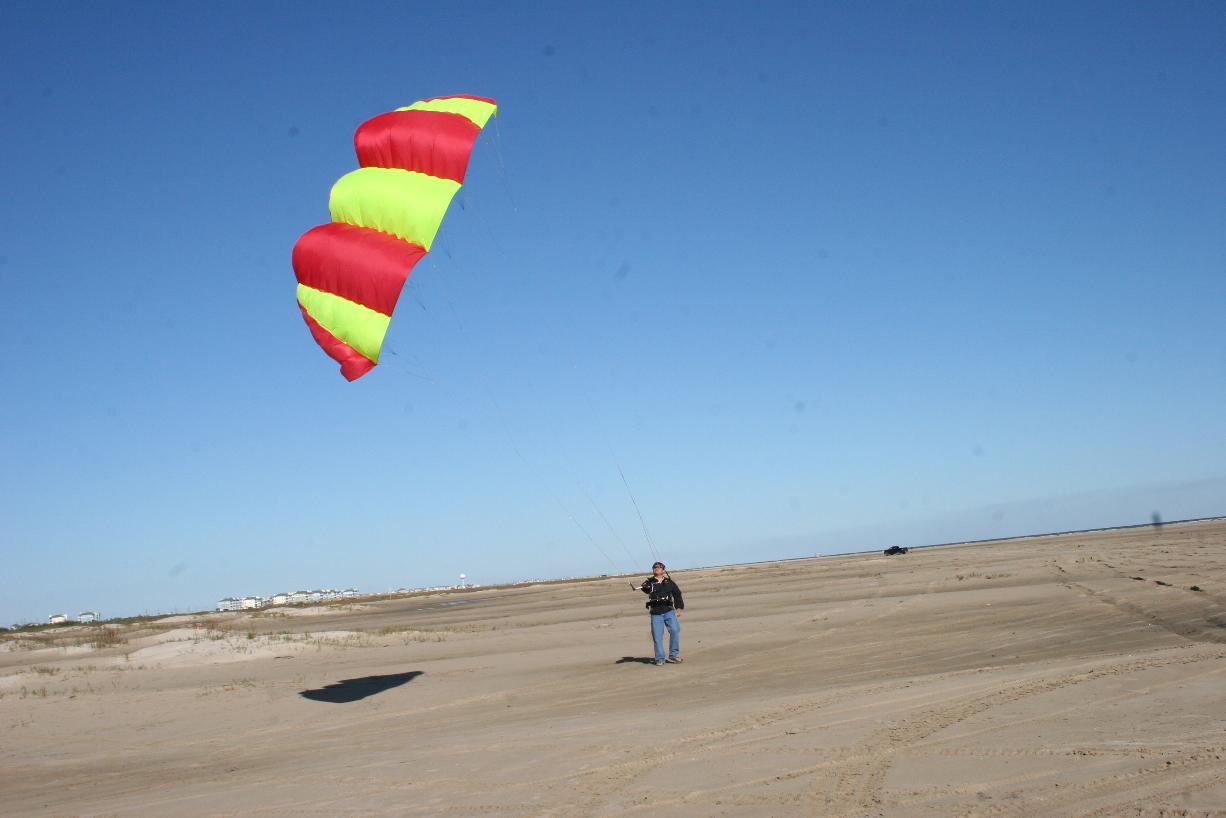 Power Kite Forum - First attempt at Nasa wing making